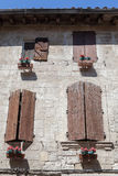 Casa histórica de Arles Francia Foto de archivo libre de regalías