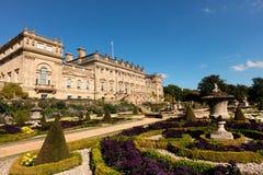 Casa histórica de Harewood perto de Leeds em Inglaterra Imagens de Stock Royalty Free