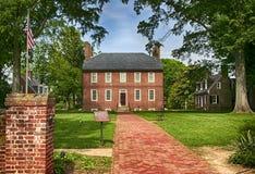 Casa histórica de Kenmore Imagem de Stock Royalty Free