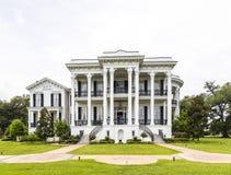 Casa histórica de la plantación de Nottoway en Luisiana Imágenes de archivo libres de regalías