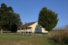 Casa histórica de Ray fotos de stock royalty free