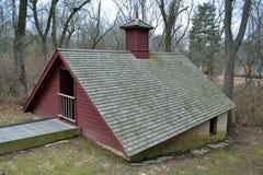 Casa histórica del hielo Imagen de archivo libre de regalías