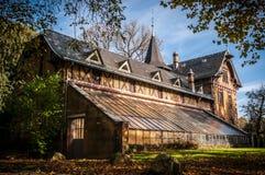 Casa histórica del jardinero en Esslingen, Alemania Fotos de archivo libres de regalías