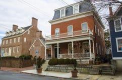 Casa histórica em Annapolis Imagens de Stock Royalty Free