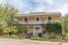 Casa histórica em McGregor fotografia de stock royalty free