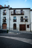 Casa histórica em Santu Lussurgiu, Sardinia fotos de stock