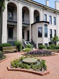 Casa histórica en la opinión de jardín botánico de Missouri, ST Louis MO imágenes de archivo libres de regalías