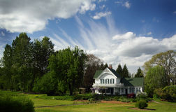 Casa histórica encantador Imagem de Stock