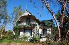 Casa histórica no Laguna Beach, Califórnia Imagens de Stock Royalty Free