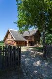Casa histórica polaca del pueblo Fotografía de archivo libre de regalías