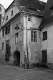 Casa histórica, Transilvania, Rumania fotografía de archivo libre de regalías