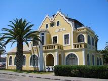 Casa histórica velha em Swakopmund fotografia de stock royalty free