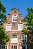 Casa histórica en Haarlem, Países Bajos Fotos de archivo libres de regalías