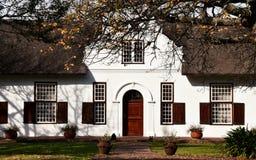 Casa holandesa de la granja del cabo Foto de archivo