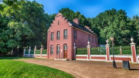 A casa holandesa na propriedade de Kuskovo foto de stock royalty free