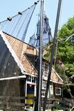 Casa holandesa velha do fisher Fotografia de Stock Royalty Free
