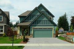 Casa Home nova para a venda Imagem de Stock Royalty Free