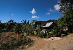 Casa i Madagascar Arkivfoto
