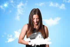 Casa ideal imagen de archivo libre de regalías