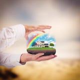 Casa ideal fotos de archivo libres de regalías