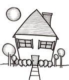 Casa ideal Imagem de Stock