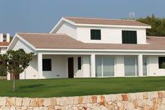 Casa ideal na ilha Imagens de Stock