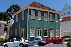 Casa imigrante italiana típica Foto de Stock