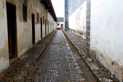 Casa incluida do Hakka de Mantang Fotografia de Stock