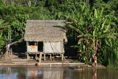 Casa indígena Fotos de archivo