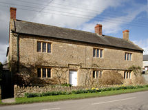 Casa inglesa da vila Foto de Stock