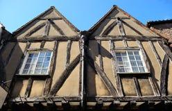 Casa inglesa del estilo en York Imagenes de archivo