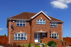 Casa inglesa típica Fotografia de Stock Royalty Free