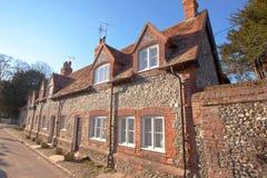 Casa inglesa tradicional Fotos de archivo