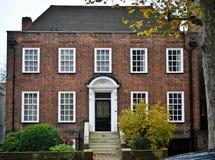 Casa inglesa tradicional Fotografía de archivo