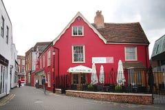 Casa inglesa tradicional imagenes de archivo