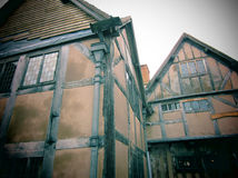 Casa inglesa velha Fotografia de Stock