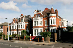 Casa inglesa velha Fotos de Stock Royalty Free