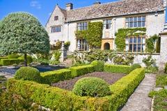 Casa inglese del paese a somerset Fotografia Stock