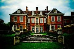 Casa inglese signorile Fotografia Stock Libera da Diritti