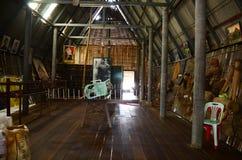 Casa interior del estilo del hogar de Tai Dam Foto de archivo libre de regalías