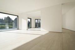 Casa interna, grande stanza Fotografia Stock