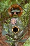 Casa inusual del pájaro Fotografía de archivo libre de regalías
