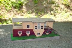 Casa invertida o casa al revés Fotografía de archivo