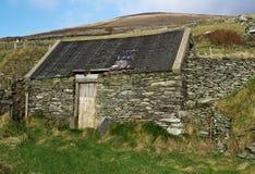 Casa irlandesa de la cara del país Foto de archivo