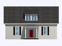 Casa isométrica Imagen de archivo libre de regalías