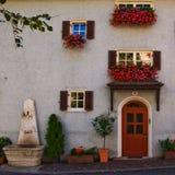 Casa italiana del Tyrol Fotos de archivo libres de regalías