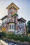Casa italiana di lusso Fotografia Stock