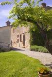 Casa italiana em Toscânia fotografia de stock royalty free