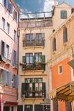 Casa italiana pintoresca foto de archivo
