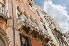 Casa italiana pintoresca en Venecia Foto de archivo libre de regalías